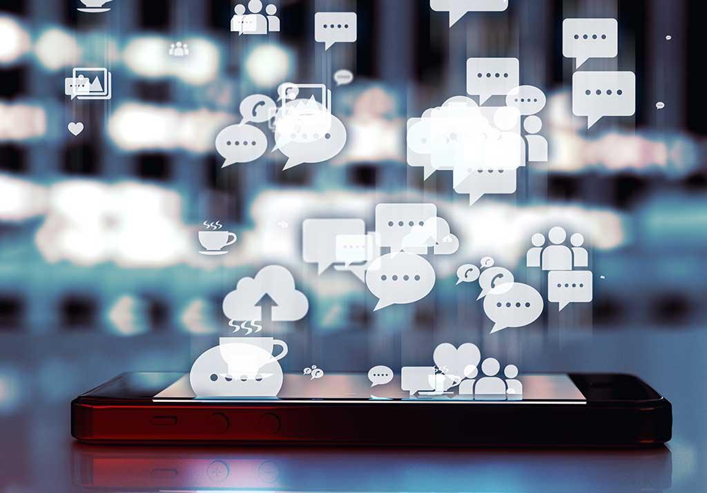 social media at exhibitions
