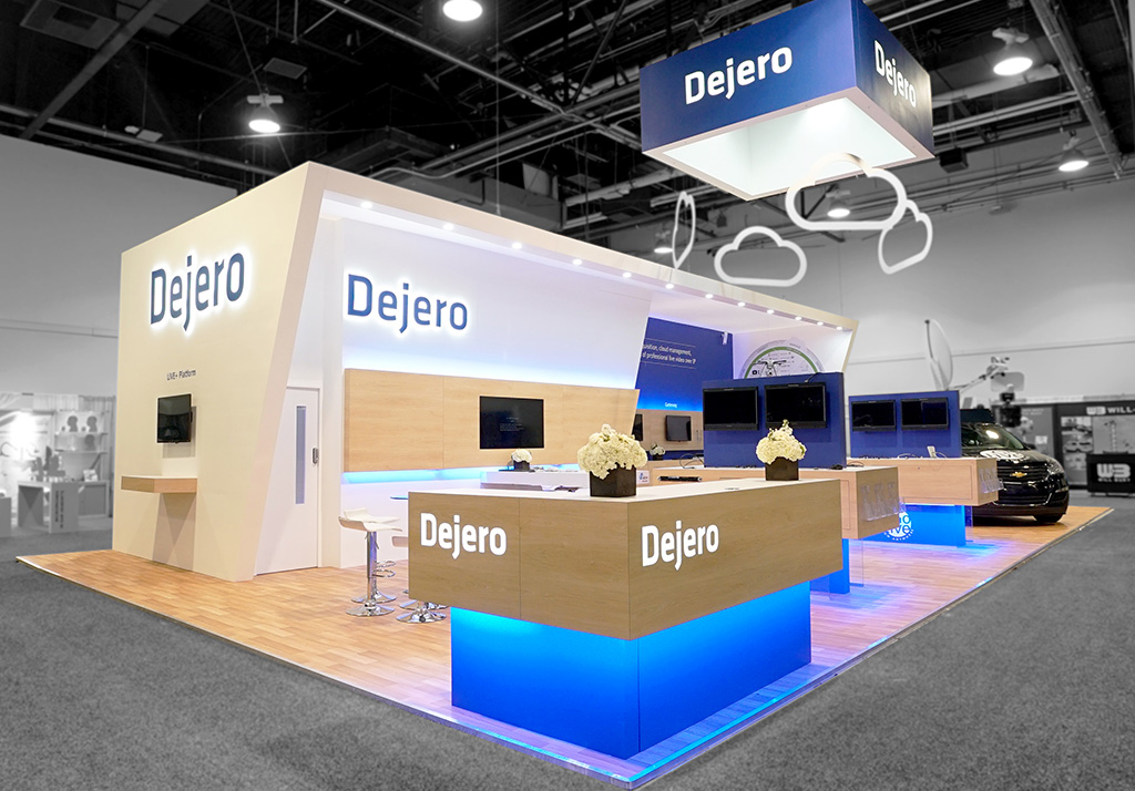 dejero exhibition stand design